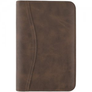 At-A-Glance Brown Portable Zipcase Binder Set 033014004 AAG033014004