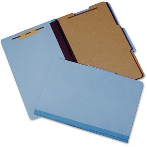 SKILCRAFT 1/3-cut Heavy-duty Classification Folder 4632326 NSN4632326