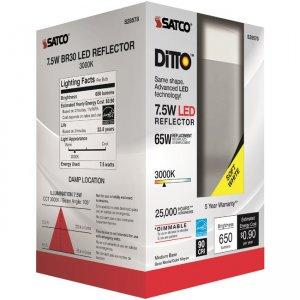 Satco 7.5W BR30 LED Bulb S28578 SDNS28578