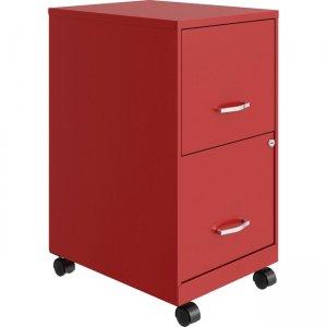 Lorell SOHO File/File Mobile File Cabinet 00061RD LLR00061RD
