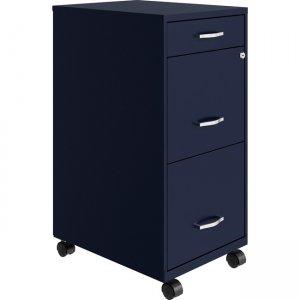 Lorell SOHO Box/File/File Mobile File Cabinet 00060NY LLR00060NY