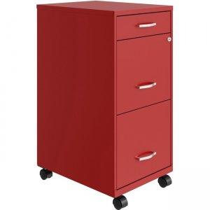 Lorell SOHO Box/File/File Mobile File Cabinet 00060RD LLR00060RD