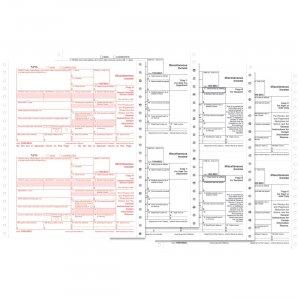 TOPS 4-part 1099-NEC Tax Forms 2299NEC TOP2299NEC