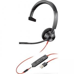 Plantronics Blackwire 3315 USB-A Headset 213936-101 BW3315 USB-A