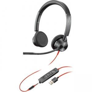 Poly Blackwire , Microsoft, USB-A 214016-101 3325