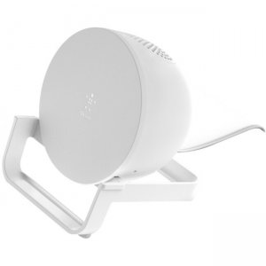 Belkin BOOST↑CHARGE Wireless Charging Stand + Speaker AUF001TTWH