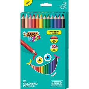 BIC Coloring Pencils BKCPJ12AST BICBKCPJ12AST