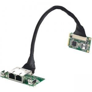Advantech PCIe to 2-Ch GigaLAN Ethernet Port Package EXM-523-PKG01E EXM-523