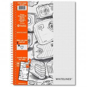"Roaring Spring Wirebound Notebooks 11"" x 8.5"" Graph 17001 ROA17001"