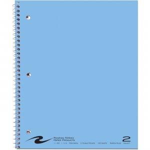 "Roaring Spring WB Notebook 2SUB 2PKT 11""x9"" CM 11085 ROA11085"