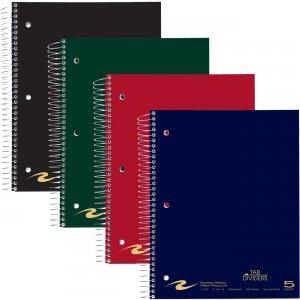 "Roaring Spring WB Notebook w/Tabs 5SUB 11""x8.5"" CM 11197 ROA11197"