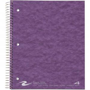"Roaring Spring WB Notebook 4SUB 4PKT 11""x9"" CM 11376 ROA11376"