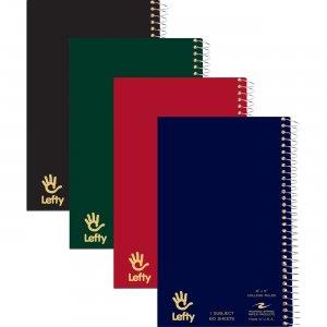 Roaring Spring Left-Handed Notebooks 1Sub 8 x 5 13507 ROA13507