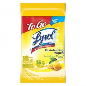 LYSOL To Go Disinfecting Wipes in Flatpacks 99717 RAC99717