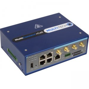 MultiTech MultiConnect rCell 600 Series LTE OnGo CBRS Industrial Cellular Router MTR6-L12G1-B04-US
