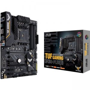 TUF Desktop Motherboard TUF GAMING B450-PLUS II GAMING B450-PLUS II