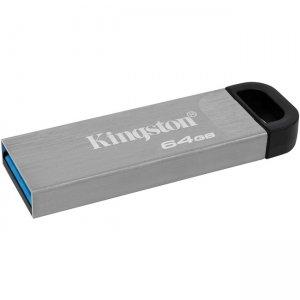 Kingston DataTraveler Kyson 64GB USB3.2 Gen 1 Flash Drive DTKN/64GBBK