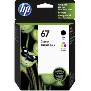 HP Black and Tri-Colour Original Ink Cartridges 3YP29AN#140 67