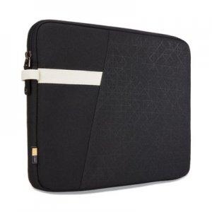 "Case Logic Ibira 11.6"" Laptop Sleeve, 12.6 x 1.2 x 9.4, Polyester, Black CLG3204389 3204389"