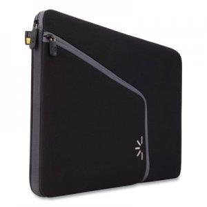 "Case Logic Roo 13.3"" Laptop Sleeve, 13.5 x 1.75 x 10.25, Neoprene, Black CLG3200729 3200729"