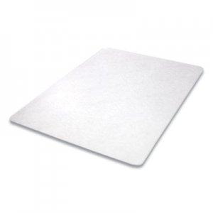deflecto Antimicrobial Chair Mat, Medium Pile Carpet, 60 x 46, Rectangular, Clear DEFCM14442FAM CM14442FAM