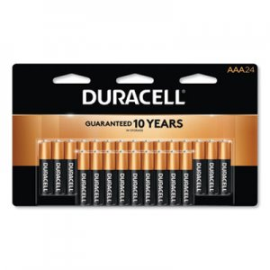 Duracell CopperTop Alkaline AAA Batteries, 24/Pack DURMN2400B24Z