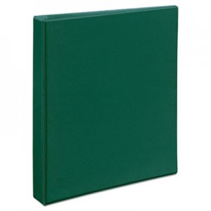 """Avery Heavy-Duty View Binder with DuraHinge and Locking One Touch EZD Rings, 3 Rings, 1"""" Capacity, 11 x 8"""