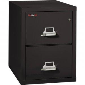 FireKing Insulated Two-Drawer Vertical File 22131CBL