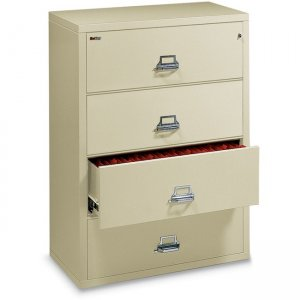 FireKing Lateral File Cabinet - 4-Drawer 44422CPA 4-4422-C