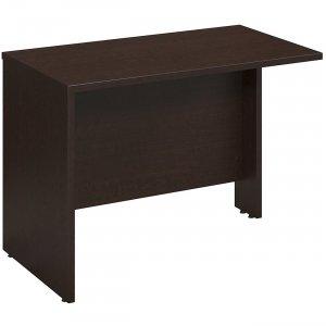 Bush Business Furniture Series C Elite 42W x 24D Bridge/Return in Mocha Cherry WC12944
