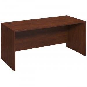 Bush Business Furniture Series C Elite66W x 30D Desk Shell in Hansen Cherry WC24542