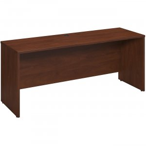 Bush Business Furniture Series C Elite72W x 24D Desk/Credenza/Return in Hansen Cherry WC24526