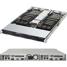 Supermicro SuperServer (Black) SYS-6018TR-TF 6018TR-TF