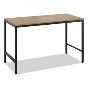 "Safco Simple Work Desk, 45.5"" x 23.5"" x 29.5"", Walnut SAF5272BLWL 5272BLWL"