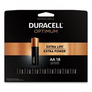 Duracell Optimum Alkaline AA Batteries, 18/Pack DUROPT1500B18PR OPT1500B18PR