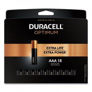 Duracell Optimum Alkaline AAA Batteries, 18/Pack DUROPT2400B18PR OPT2400B18PR