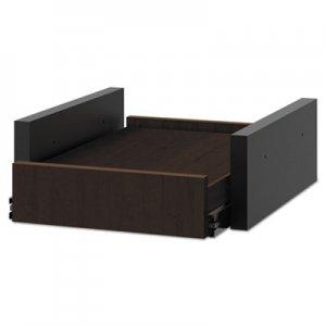 HON Hospitality Cabinet Sliding Shelf, 16 3/8w x 20d x 6h, Mocha HONHPBC1S18MO