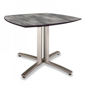 Nomad by Palmer Hamilton Story Squircle Table, 36 x 36 x 29, Pewter PHLSR2936PW SR2936PW