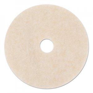 """3M Ultra High-Speed TopLine Floor Burnishing Pads 3200, 24"""" Dia., White/Amber, 5/CT MMM18069 3200"""