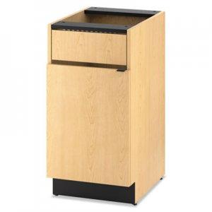 HON Hospitality Single Base Cabinet, Door/Access Panel, 18 x 24 x 36, Natural Maple HONHPBC1F1D18D HPBC1F1D18.D