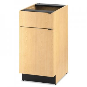 HON Hospitality Single Base Cabinet, Door/Drawer, 18w x 24d x 36h, Natural Maple HONHPBC1D1D18D HPBC1D1D18.D