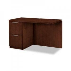 HON Arrive Left Return For Right Pedestal Desk, 48w x 24d x 29-1/2h, Shaker Cherry HONVW182LC1Z9FF HVW182L.C