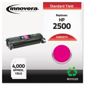 Innovera Remanufactured Magenta Toner, Replacement for HP 123A (Q3973A), 4,000 Page-Yield IVR83973