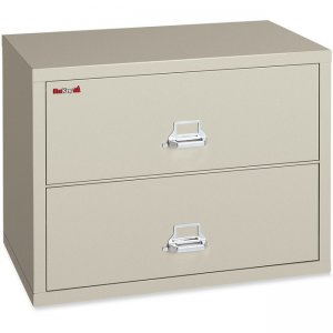 FireKing Lateral File Cabinet - 2-Drawer 24422CPA 2-4422-C