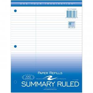 "Roaring Spring Filler Paper 8.5""x11"" Law Ruled 83908 ROA83908"