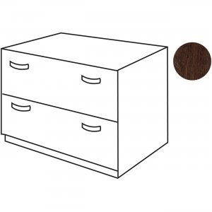 Bush Business Furniture Series C36W 2 Drawer Lateral File - Assembled in Mocha Cherry WC12954ASU