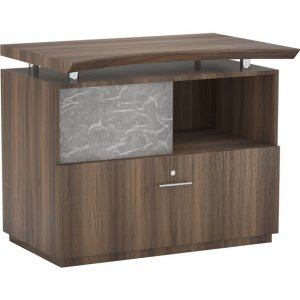 Mayline Single Lateral File with Acrylic Door STECTBS
