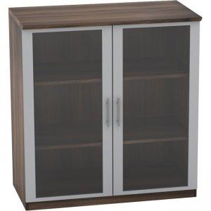 Mayline Medina - Glass Display Cabinet MGDCTBS MGDC