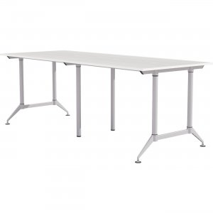 """Mayline EVEN Workstation, 4-Person, 24"""" x 72"""", Standing-Height LD9SW"""