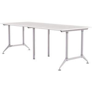 """Mayline EVEN Workstation, 4-Person, 24"""" x 60"""", Standing-Height LD8SW"""